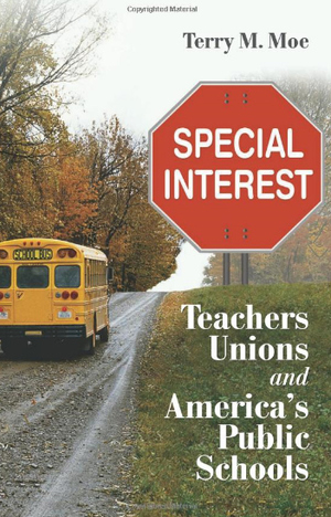 Notas sobre Special Interest: Teachers Unions and America's Public Schools